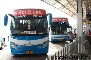 автобус бангкок паттайя