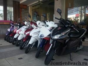 аренда мотобайка тайланд