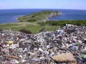мусор на ко-лане