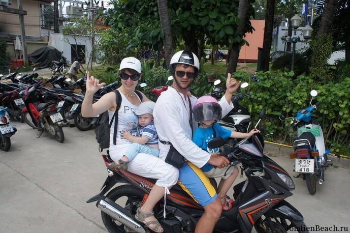 аренда мотобайка таиланд