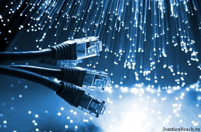 повреждение интернет кабеля азия