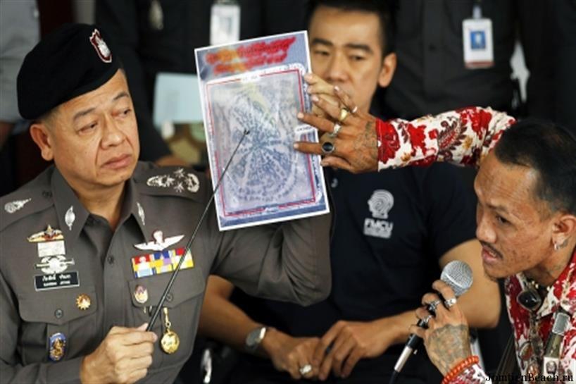 задержан американец бангкок