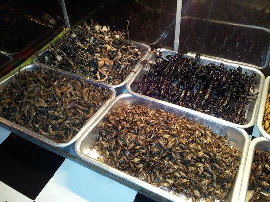 поесть насекомых