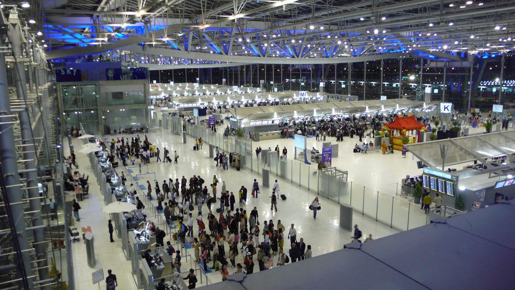Аэропорт Суварнабхуми