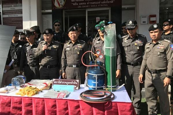 Попытка взрыва банкомата в Хуа Хине