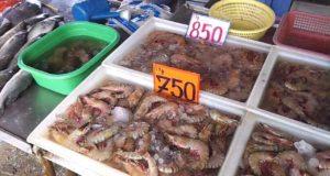 рынки морепродуктов в паттайе
