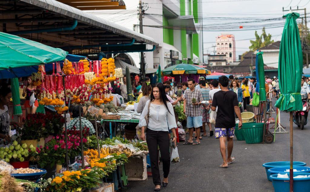 рынок Talad Kaset